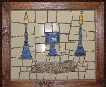 Messianic art mosaic