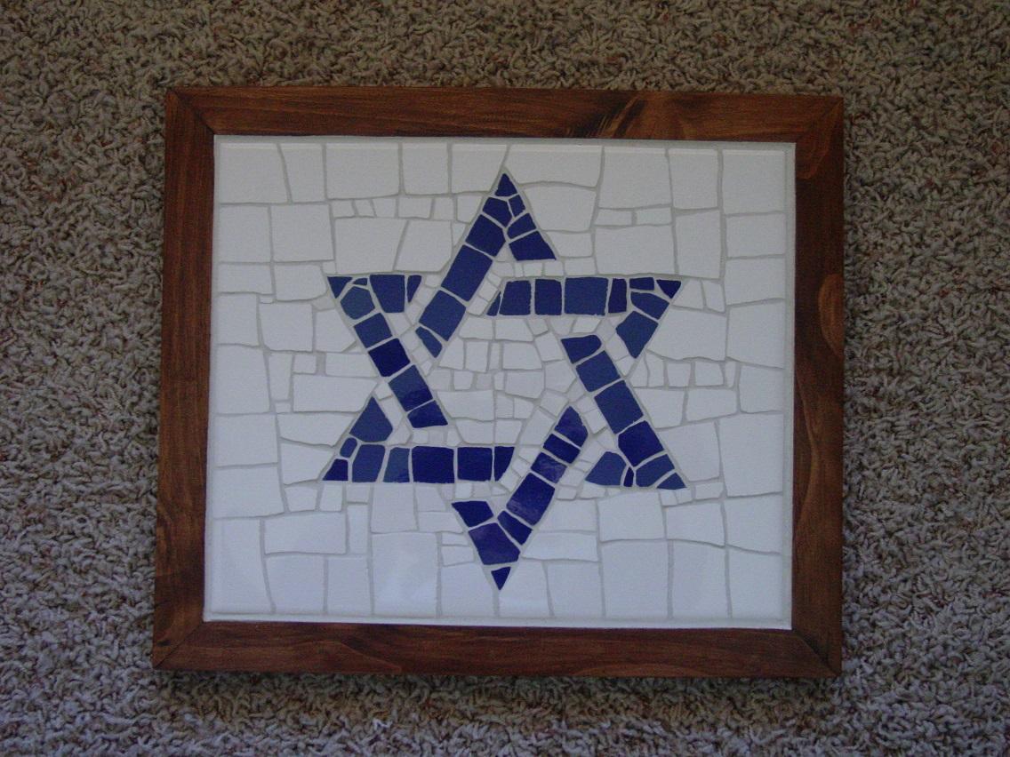 Jewish Star Mosaics
