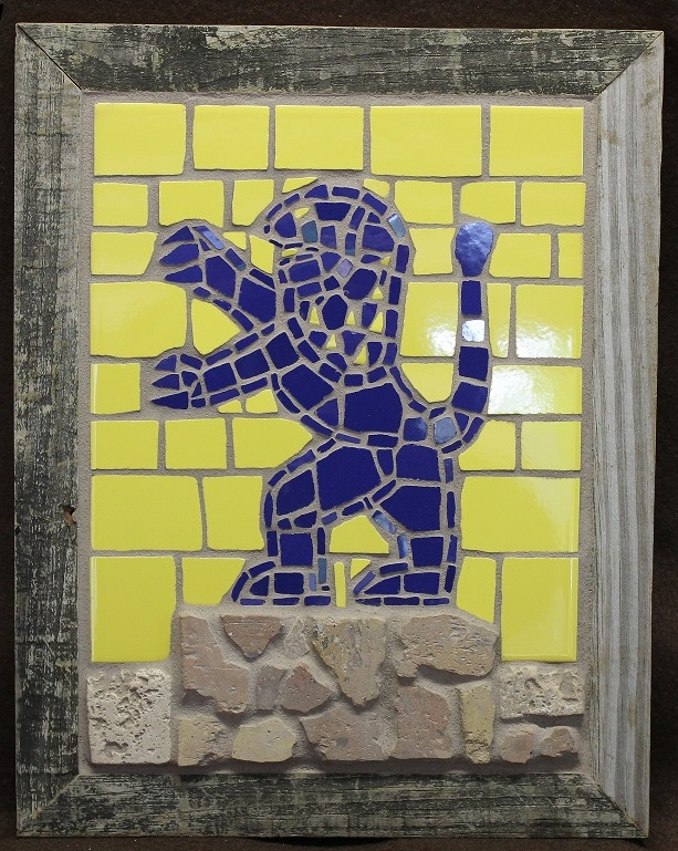 One New Man art mosaic, Messianic Judaism art Blessing Yeshua (Jesus)