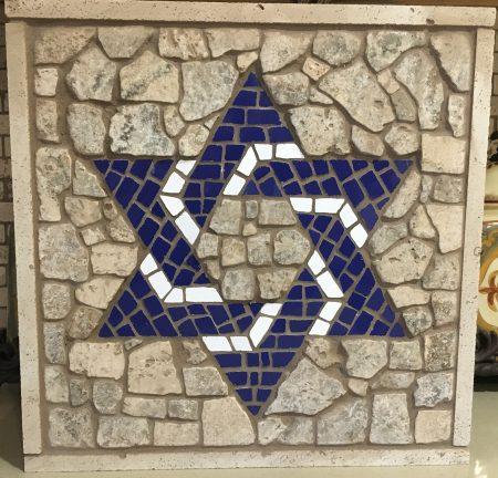 Jewish Star Mosaic