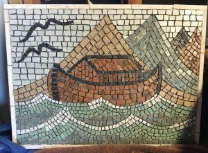 Noah's ark mosaic